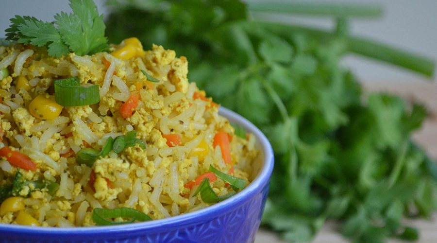 Vegan Fried Rice (oil-free)
