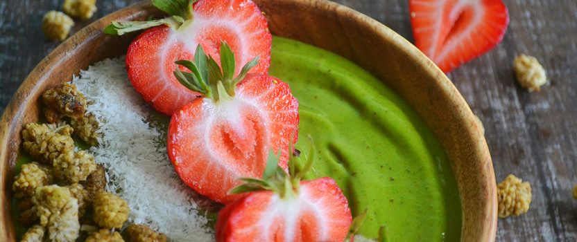 Vegan Green Boost Smoothie bowl