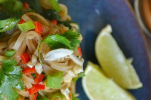 Low-Fat Pad Thai Peanut Sauce (Oil-Free)