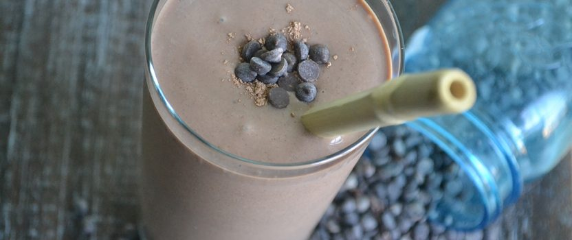 Vegan Chocolate Lovers Protein Smoothie