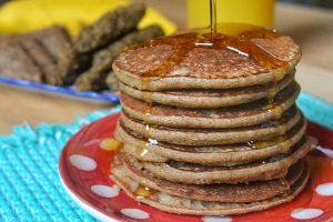 healthy vegan pancakes