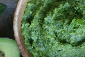 Vegan Avocado Pumpkin Seed Pesto (Oil-Free)