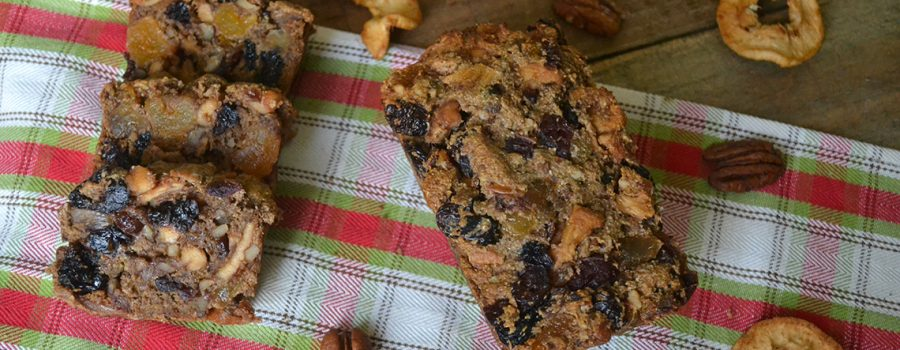 Healthy Vegan Fruitcake