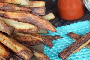 Healthy Oil-Free Crispy Fries