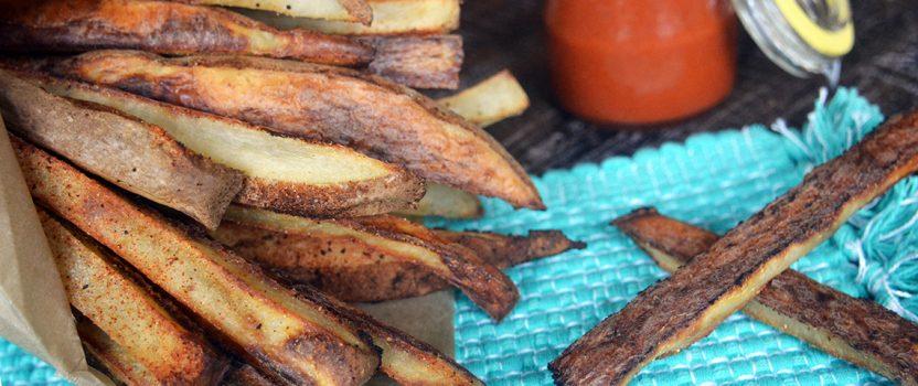 Healthy Oil-Free Crispy Fries