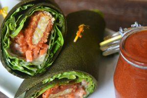 Healthy Raw Vegan Wraps