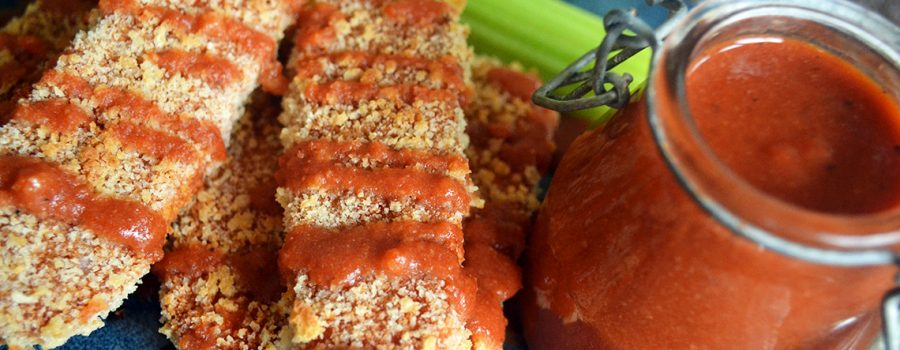 Healthy Vegan Buffalo Tempeh