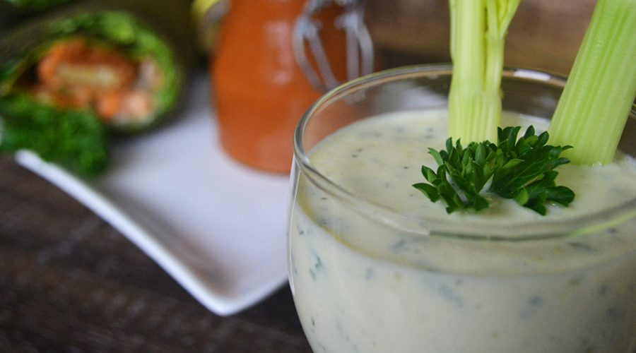 Vegan Ranch Dressing / Dipping Sauce (oil-free)