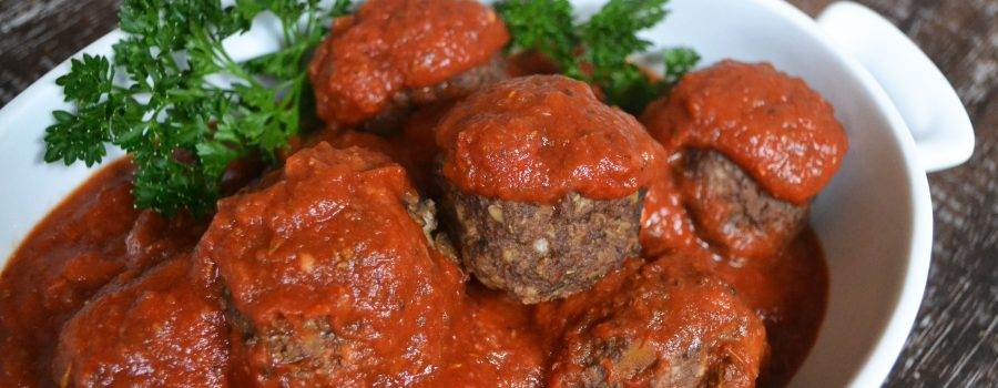 Healthy Vegan Meatballs
