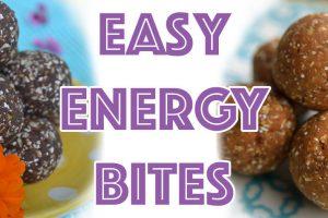 Easy Low-Fat Energy Bites