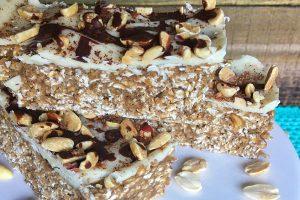 Vegan Chocolate Peanut Protein Bar