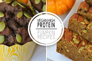 Vegan High Protein Pumpkin Recipes