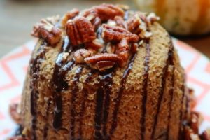Vegan Pumpkin Spice Protein Mug Cake