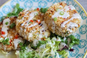 "Heart of Palm ""Crab"" Cakes"